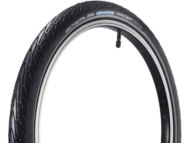 """SCHWALBE Marathon Racer Tyre Performance 20"""" Lite, wire bead Reflex"""
